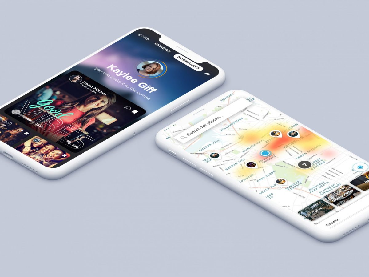 App UI/UX design sample: Social - created by Viputheshwar Sitaraman